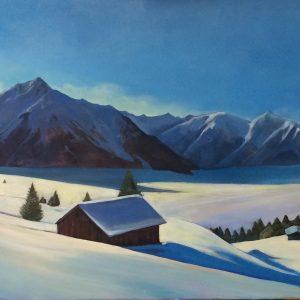 Pejzaż alpejski